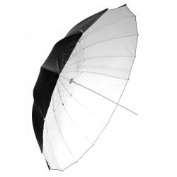 Parapluie Blanc / Noir 183 cm