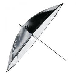 Parapluie Blanc/Noir