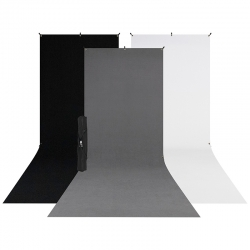 X-Drop 3-Pack Backdrop Kit...