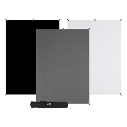 X-Drop 3-Pack Backdrop Kit 5x7