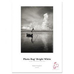 """PHOTO RAG BRIGHT WHITE 310g - 17"""""""