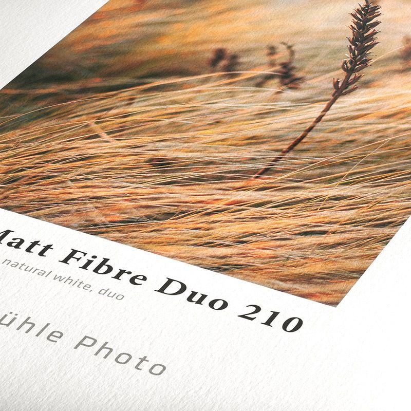 Photo Matt Fibre Duo 210g - A2