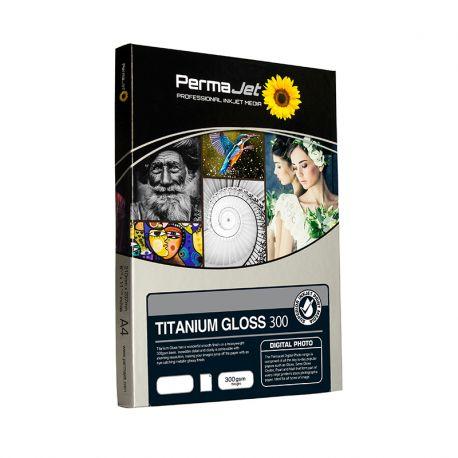 TITANIUM GLOSS METALLIC 300g - 13x18cm