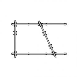 """Kit rail """"STANDARD"""" 3 x 4,5 m"""