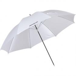 Parapluie Blanc satiné neutre