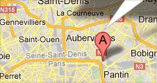 Plan Google Maps pour localiser MMF
